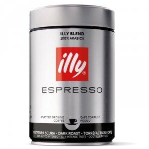 Кофе молотый ILLY, темная обжарка